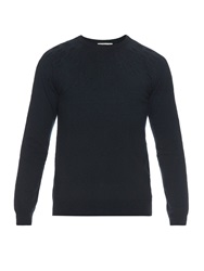 Balenciaga Round Neck Embossed Sweater