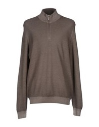Gran Sasso Turtlenecks Khaki