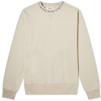 Acne Studios Flogho Crew Sweat Neutrals