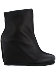 Peter Non Wedged Boots Black