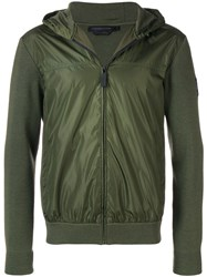 Canada Goose Shell Panelled Hoodie Green