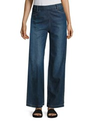 Vince High Rise Denim Pants Mid With Tint