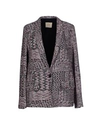 Attic And Barn Attic And Barn Suits And Jackets Blazers Women Garnet