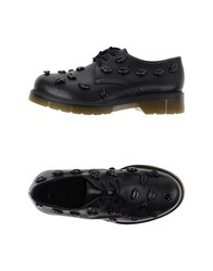 Never Ever Footwear Lace Up Shoes Women Black