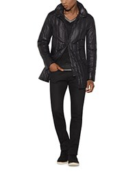 John Varvatos Star Usa Quilted Parka Black