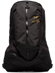 Arc'teryx Arro 22 Backpack With Watertight Construction Black