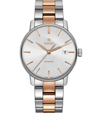 Rado R22860022 Coupole Classic Stainless Steel And Rose Gold Watch