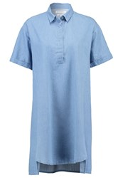 Native Youth Summer Dress Mid Wash Light Blue