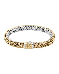 Classic Chain Gold And Silver Medium Reversible Bracelet John Hardy