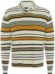 J.W.Anderson Jw Anderson Tie Collar Sweater Yellow