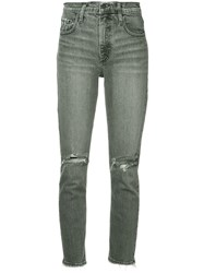 Nobody Denim True Jean Ankle Jeans Grey