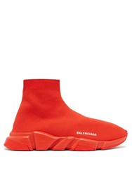 Balenciaga Speed Sock Trainers Red