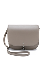 Tory Burch Toggle Messenger Bag French Grey