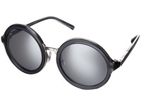 3.1 Phillip Lim Pl11c33sun Charcoal Nickel Silver Mirror Fashion Sunglasses Clear