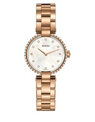 Rado Coupole Classic Round Watch Rose Gold