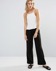 Neon Rose Drill Trousers Black