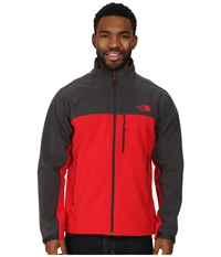 The North Face Apex Bionic Jacket Tnf Red Asphalt Grey Men's Coat