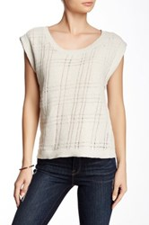Inhabit Drop Needle Tank Beige