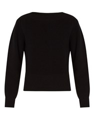Isabel Marant Fidj Cotton Blend Sweater Black