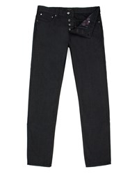 Ted Baker Sudd Straight Fit Black Jeans