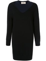 Ports 1961 Convertible Knitted Dress Black