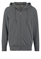 Only And Sons Onsfrede Tracksuit Top Dark Grey Melange Mottled Dark Grey