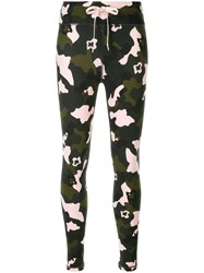 The Upside Camouflage Fitted Leggings Multicolour