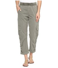 Xcvi Reagan Crop Ivy Pigment Women's Casual Pants Olive