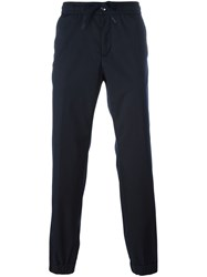 Z Zegna Drawstring Track Pants Blue