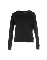Douuod Topwear Sweatshirts Women Black