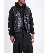 Junya Watanabe Quilted Shell Gilet Black