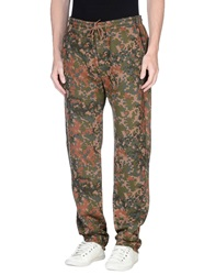 Obey Casual Pants Military Green
