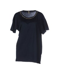Jijil Topwear T Shirts Women Dark Blue