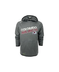 Reebok Colorado Avalanche Nhl Center Fusion Hoodie Charcoal