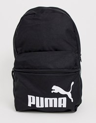 Puma Phase Backpack In Black Black