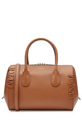 Nina Ricci Leather Tote Brown