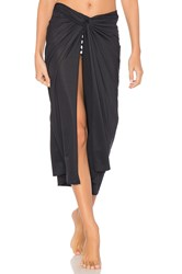 Lenny Niemeyer Knot Touch Sarong Black