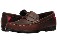 Footjoy Club Casuals Handswen Penny Loafer Bomber Brown Golf Shoes