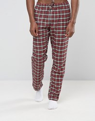 Esprit Pyjamas In Check Red