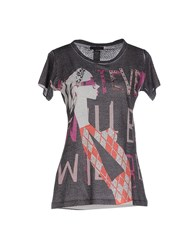 Custo Barcelona Topwear T Shirts Women Grey