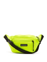 Balenciaga Logo Belt Bag Green