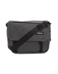Eastpak Black Denim Canvas Delegate Messenger Bag 20 L