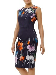Fenn Wright Manson Sicily Dress Navy Multi