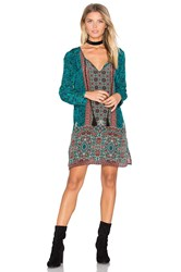 Tolani Cecilia Dress Turquoise