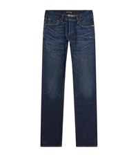 Tom Ford Straight Leg Jeans Male Blue
