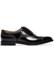 Church's Black Anna Studded Leather Brogues