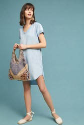 Cloth And Stone Justine Dress Denim Light