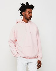The Idle Man Classic Overhead Hoodie Pink