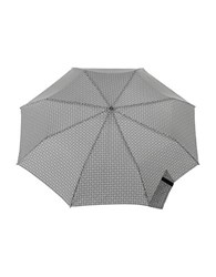 Totes Titan Super Strong Automatic Umbrella Grey