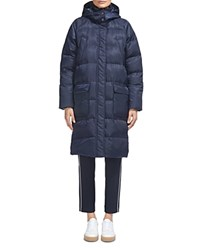 Whistles Ash Puffer Coat Navy
